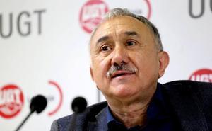 Pepe Álvarez propone en Logroño mas impuestos para pagar las pensiones