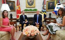 Trump promete a los Reyes visitar España y destaca la «excelente relación» bilateral