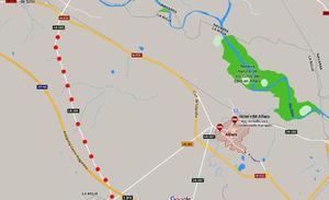 Cuatro heridos tras la colisión de tres vehiculos en Alfaro