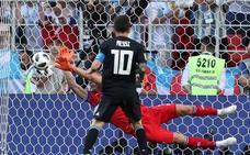 Messi, contra las cuerdas