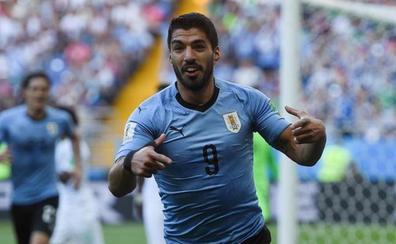Directo: Luis Suárez adelanta a Uruguay