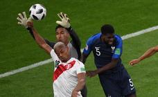 Las imágenes del Francia - Perú del Mundial de Rusia 2018