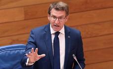 Feijóo afirma que «sería un problema llegar al congreso del PP con el partido dividido en siete»