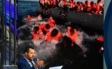 Salvini pide a España que se haga cargo de la «carne humana» de otro barco de inmigrantes