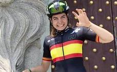 Sheyla Gutiérrez, sexta en la contrarreloj del Campeonato de España