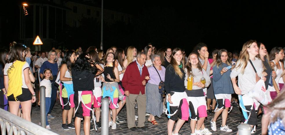 San Juan enciende la fiesta en Nájera