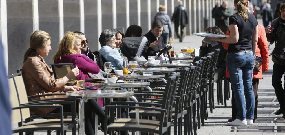 Las terrazas no podrán superar el 80% de la superficie de los locales