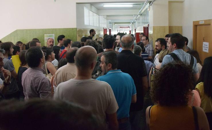794 aspirantes a docentes se enfrentan a su exámen