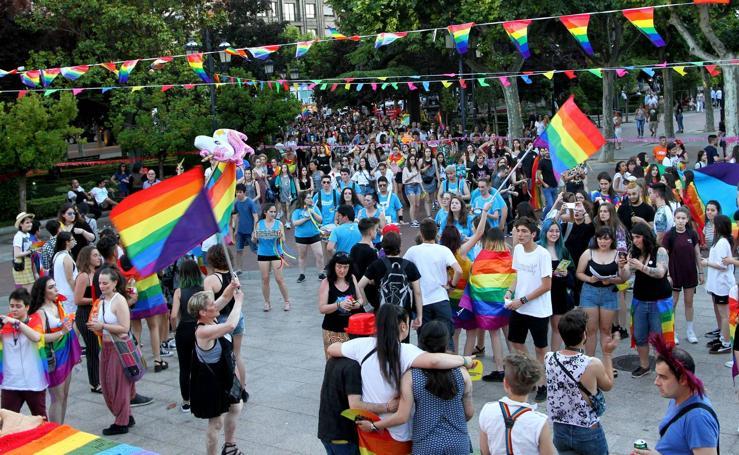 Logroño se manifiesta por los derechos del colectivo LGTBI+