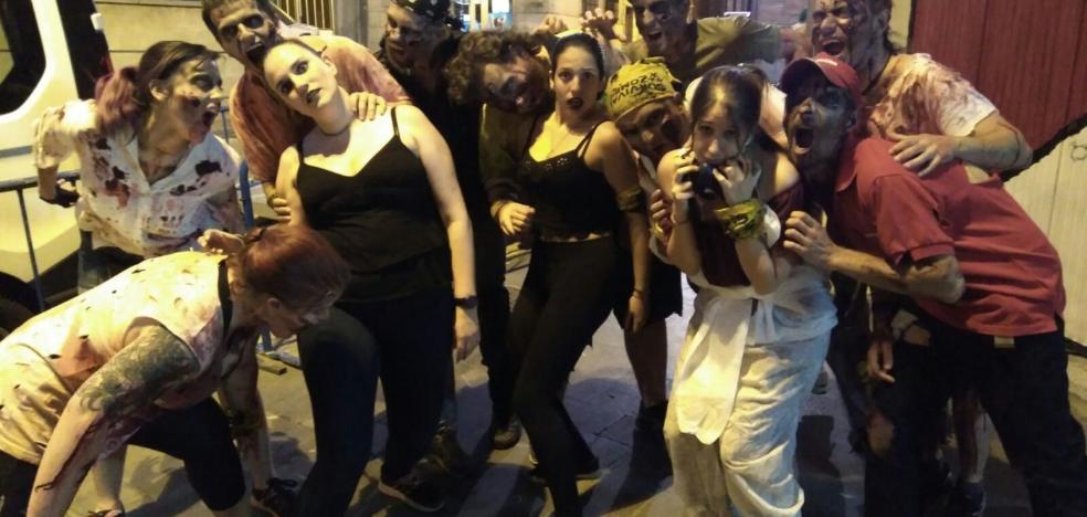 Una 'plaga' de muertos vivientes invadió anoche las calles de Arnedo