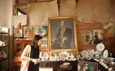 Más de cuarenta puestos en la Feria Internacional de Antigüedades de Munilla