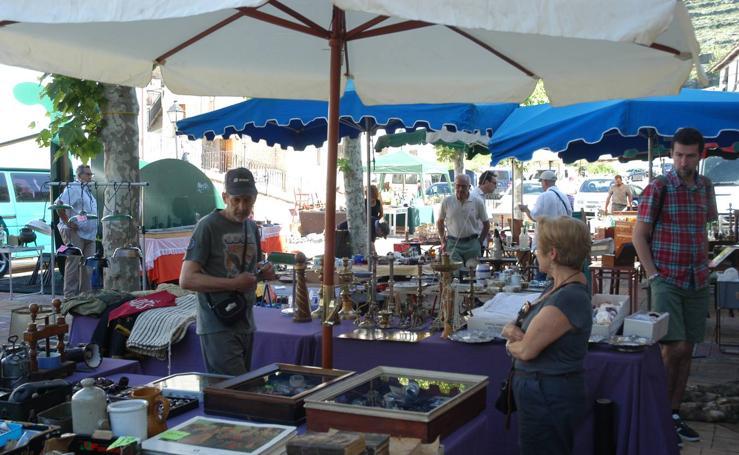 Feria de Antigüedades de Munilla