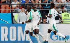 El Japón - Senegal, en imágenes