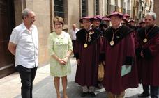 Alfaro acogió ayer la celebración del Día del Cofrade del Vino de Rioja