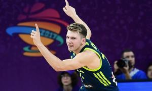 Eslovenia jugará contra España sin Doncic ni Randolph