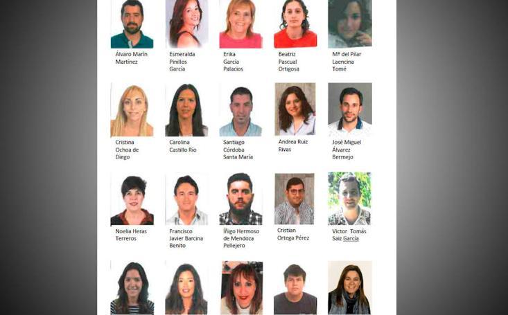 Candidatos a vendimiadores 2018
