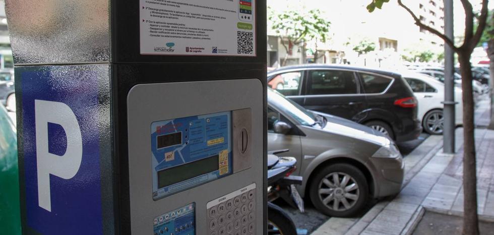 Logroño suma 122 nuevas plazas de aparcamiento regulado