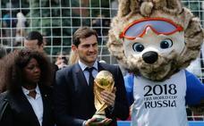 Casillas: «El partido contra Rusia va a ser difícil»