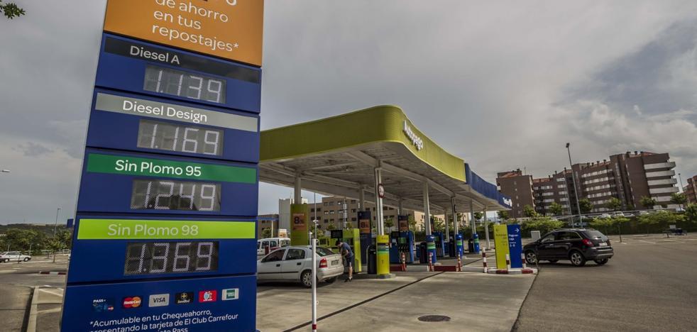 La Rioja afronta la operación salida estival con el combustible más caro desde el 2014