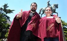 Andrea Ruiz y Álvaro Marín, Vendimiadores 2018