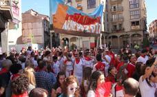 La peña Lubumbas fleta tres autobuses a San Fermín