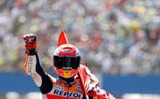 Márquez gana una inolvidable carrera