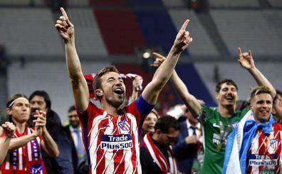 Gabi deja el Atlético con «el escudo bordado en la piel»