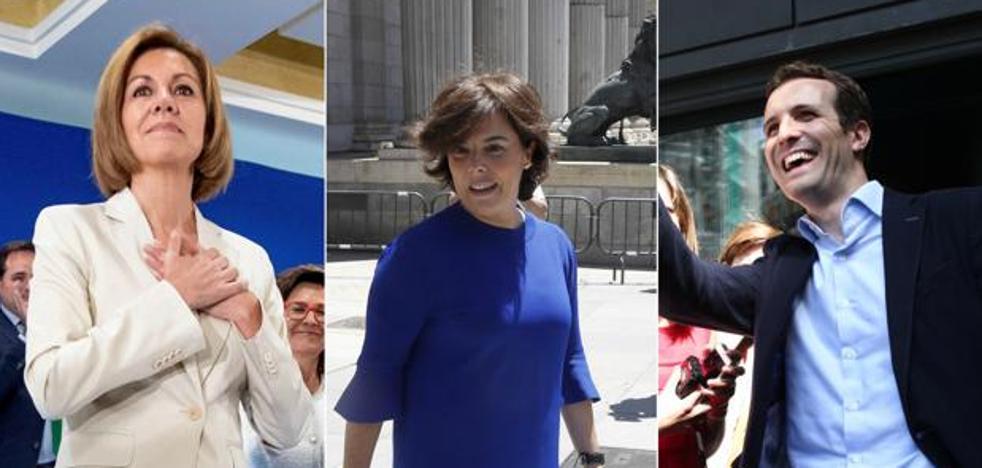 El PP elige al sucesor de Rajoy sin un favorito claro en las primarias
