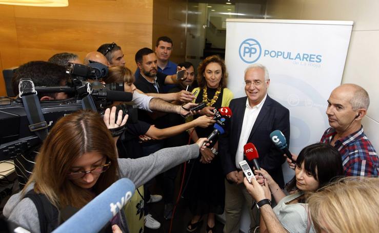Votaciones en el PP riojano para elegir al nuevo presidente nacional de los populares