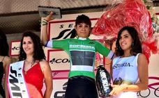 Sheyla Gutiérrez, líder de la montaña en el Giro