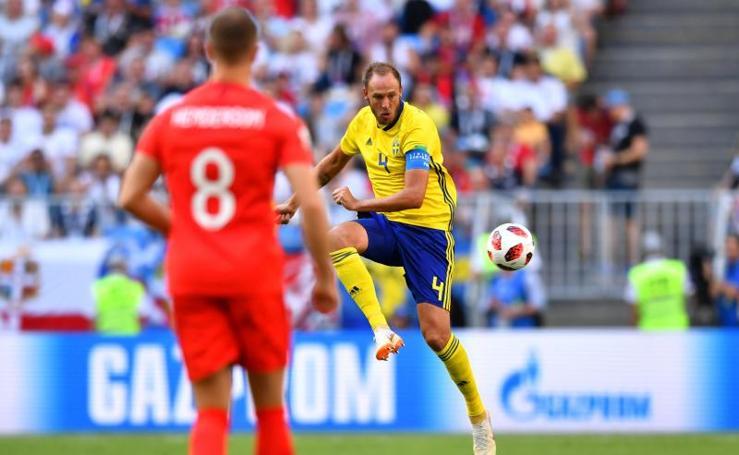 El Suecia-Inglaterra, en imágenes