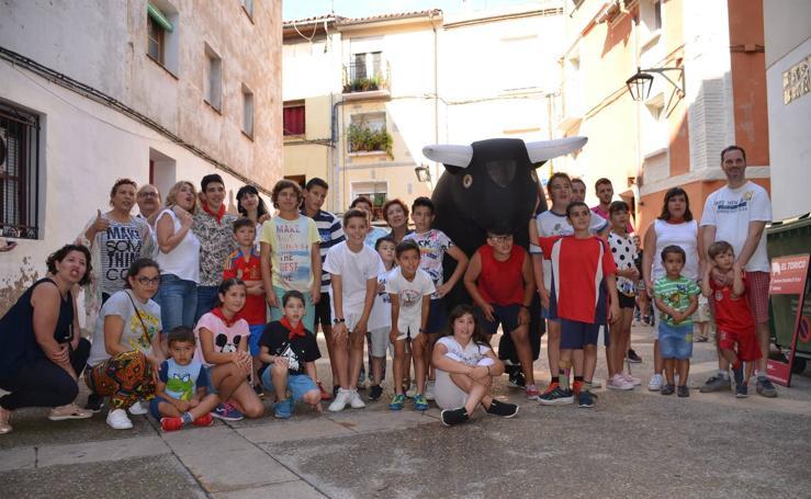 Fiesta infantil por San Fermín del Club Taurino de Calahorra