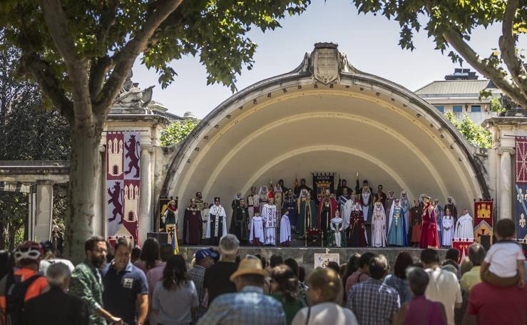 Presentación del Reino de Nájera en Logroño