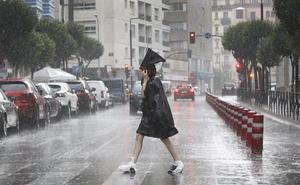 Las lluvias de la primera semana de julio duplican ya el histórico del mes