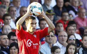El defensa Javier Flaño, sexto fichaje de la UD Logroñés