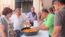 Concurso de ranchos, que marca el final de las fiestas de San Pedro y San Marcial de Lardero