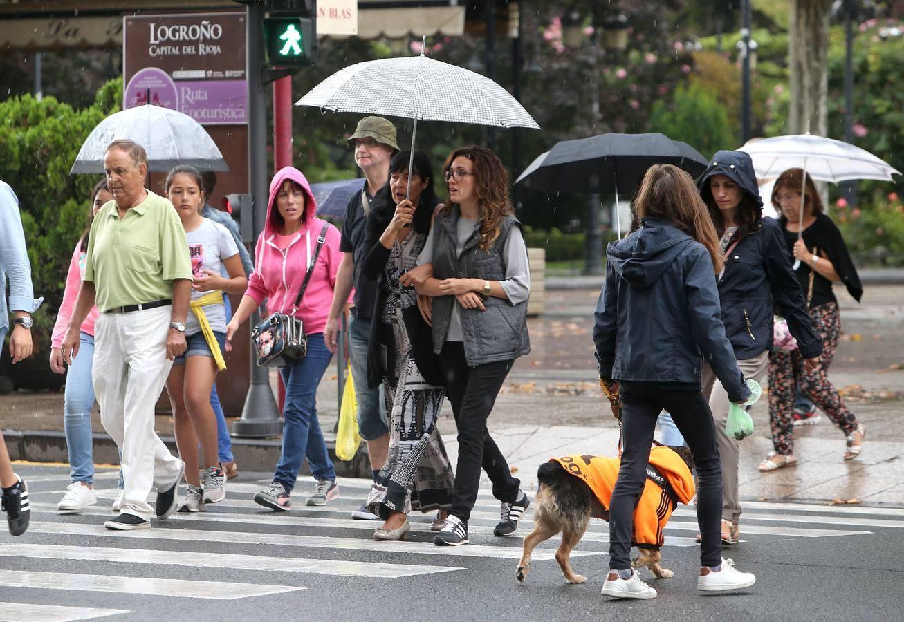 La Rioja, en alerta amarilla por lluvias hasta el sábado