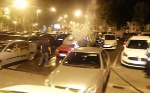 La Policía investiga los incendios de coches en Logroño