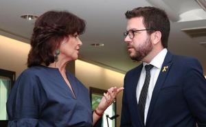 El vicepresidente catalán ratifica ante Calvo la nueva actitud de la Generalitat