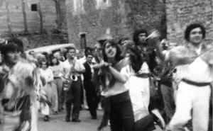 Fiestas del Carmen en Lugar del Río en 1968