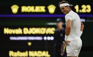 Nadal y Djokovic llegan a la medianoche