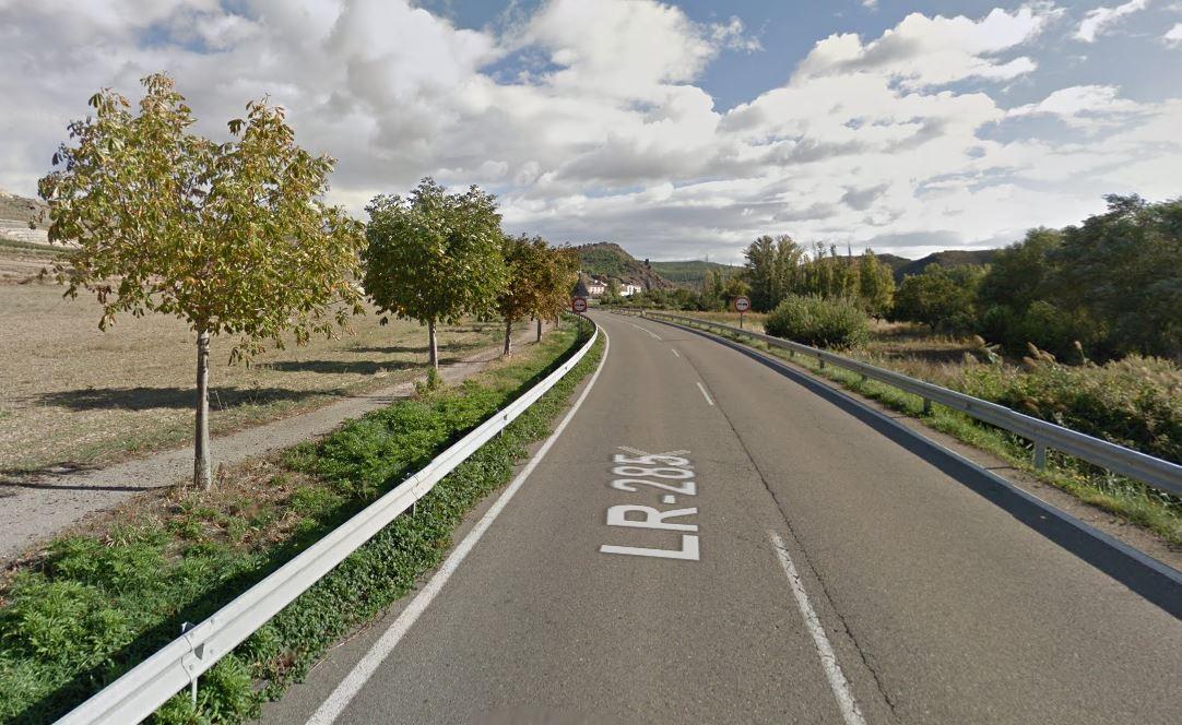 Herido un ciclista al caer de su bici en Cervera