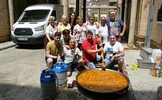 Éxito del concurso de paellas de las fiestas de los barrios altos najerinos