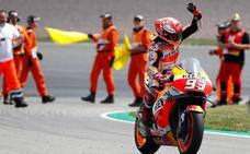 Márquez se mueve a su antojo en Sachsenring
