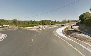 Tres personas resultan heridas en un accidente en Nalda