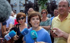 Sáenz de Santamaría insiste en una lista única para el congreso