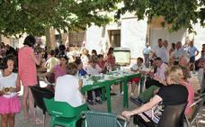 Final de las fiestas de los barrios altos de Nájera