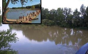El antes y el después de la 'Playa del Ebro'