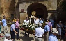 Procesión en Santa Lucía de Ocón