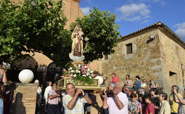 Fiesta de la Virgen del Carmen en Calahorra